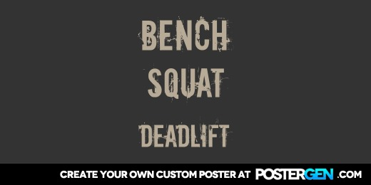 Custom Deadlift Twitter Cover Maker