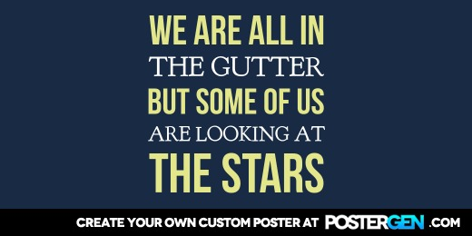 Custom Looking at the Stars Twitter Cover Maker