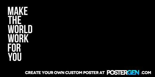 Custom Make The World Twitter Cover Maker