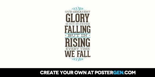 Custom Rising Every Time Twitter Cover Maker