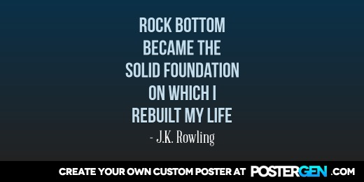 Custom Rock Bottom Twitter Cover Maker
