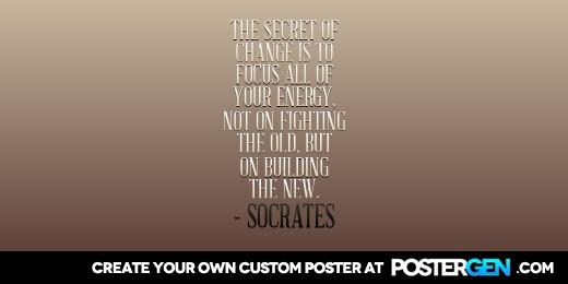 Custom Secret Of Change Twitter Cover Maker