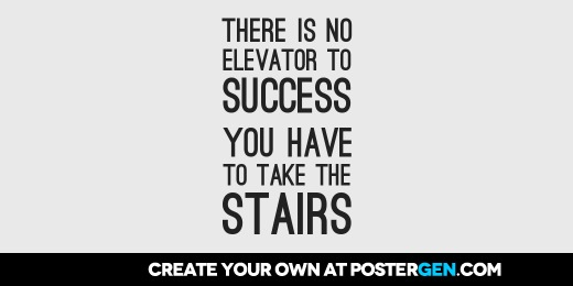 Custom Take The Stairs Twitter Cover Maker