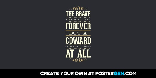 Custom The Brave Twitter Cover Maker