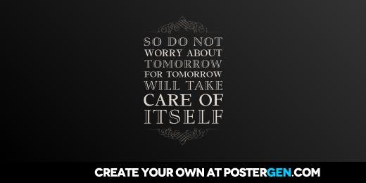 Custom Tomorrow Twitter Cover Maker