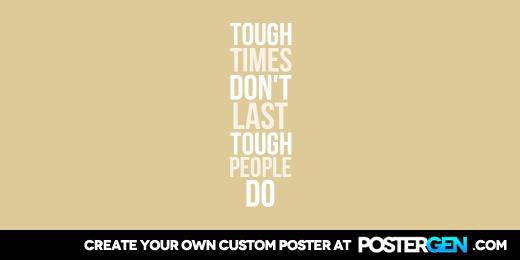 Custom Tough Times Twitter Cover Maker
