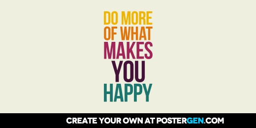 Custom What Makes You Happy Twitter Cover Maker