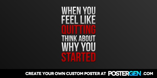 Custom Why You Started Twitter Cover Maker