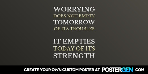 Custom Worrying Does Not Twitter Cover Maker