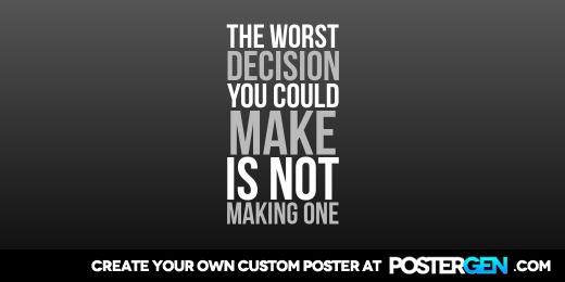 Custom Worst Decision Twitter Cover Maker