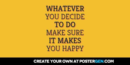Custom You Decide Twitter Cover Maker