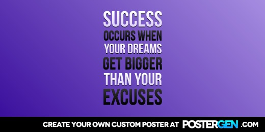 Custom Your Excuses Twitter Cover Maker