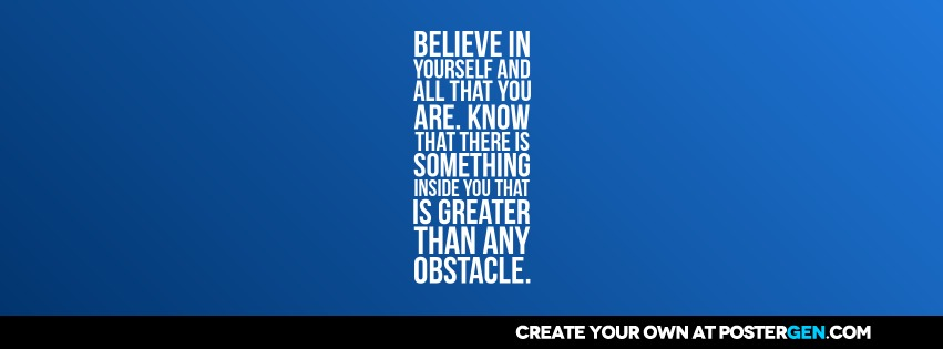 Custom Any Obstacle Facebook Cover Maker