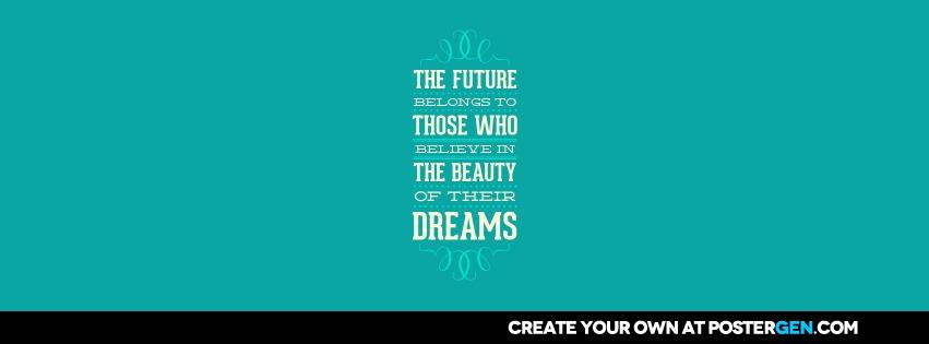 Custom Beauty Of Their Dreams Facebook Cover Maker