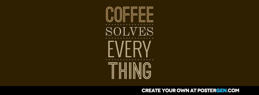 Custom Coffee Facebook Cover Maker