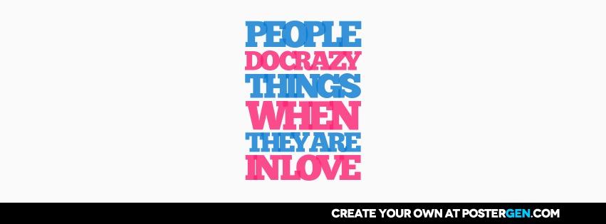 Custom Crazy Things Facebook Cover Maker