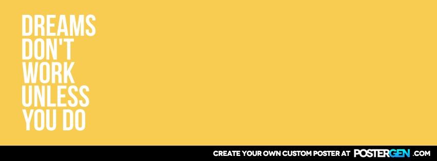 Custom Dreams Facebook Cover Maker