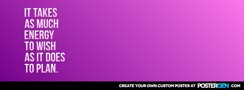 Custom Energy To Wish Facebook Cover Maker