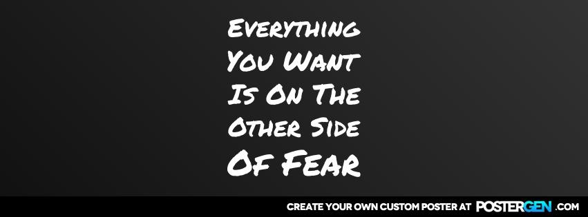 Custom Fear Facebook Cover Maker