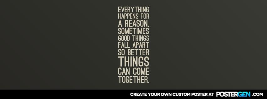 Custom For A Reason Facebook Cover Maker