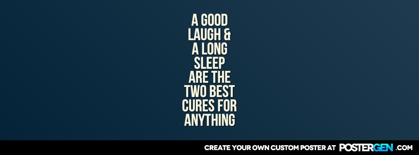 Good Laugh Facebook Cover Maker Quote Posters Custom Posters