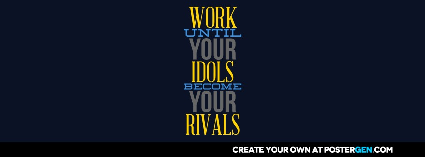 Custom Idols Become Rivals Facebook Cover Maker