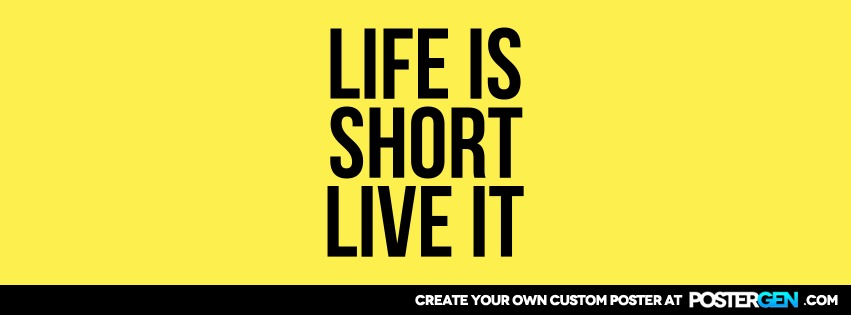 Custom Live It Facebook Cover Maker