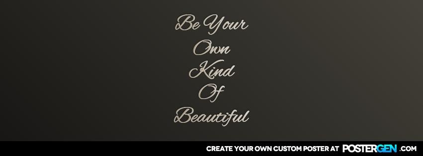 Custom Own Kind Facebook Cover Maker