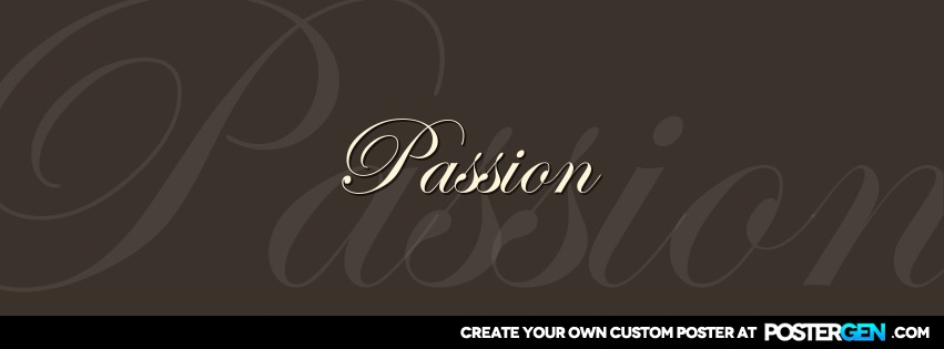 Custom Passion Facebook Cover Maker