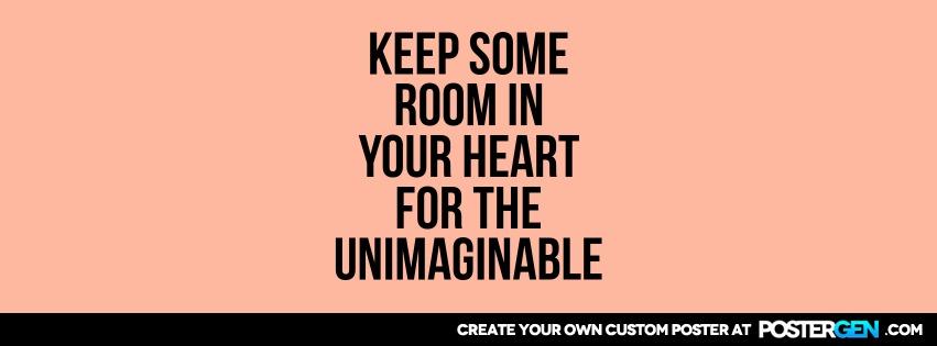 Custom Room In Heart Facebook Cover Maker