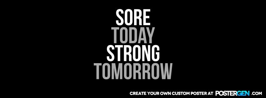 Custom Strong Tomorrow Facebook Cover Maker
