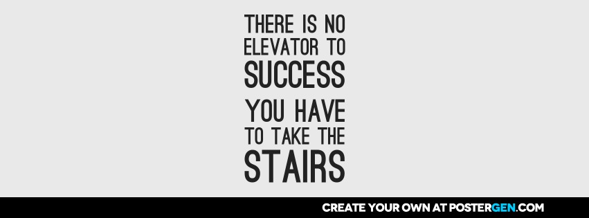 Custom Take The Stairs Facebook Cover Maker
