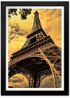 Golden Eiffel Tower Print