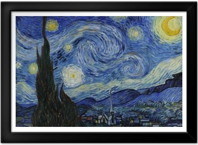 Vincent van Gogh - The Starry Night Print - Art Posters - Posters ...