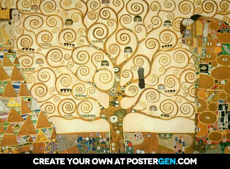Gustav Klimt The Tree Of Life Print
