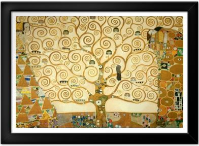 Gustav Klimt The Tree Of Life Print Art Posters Postergen